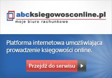 abcksiegowosconline.pl - Platforma internetowa umożliwiająca prowadzenie księgow